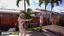BANGBROS - Jmac Notices Kara Lee Sunbathing With Her Big Tits Hanging Out xvideos preview