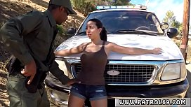 Police woman fucked Latina Babe Fucked By the Law