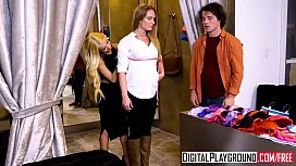 DigitalPlayground Slippery Salesgirl