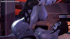 FapZone Liara Toni Mass Effect