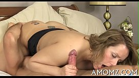 Mature sweetheart moans and acquires off