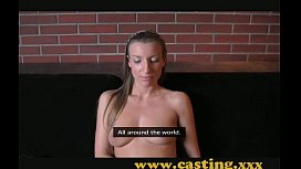 Experienced mom creampied in casting interview