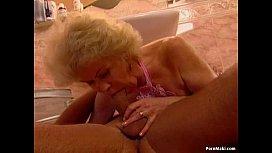 Granny Effie takes hard pounding
