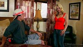 Sara Vandella Banged By Lucky Guy