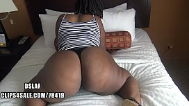 Thick Haitian Shows Big Booty And Sloppy Head Skills- DSLAF sex image