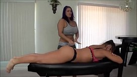Alexis Rain Farting While Getting A Massage