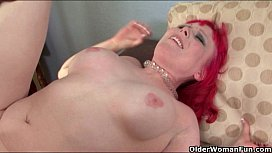 Milf Bunny works a big black cock with her mouth and pussy
