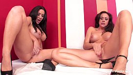 Lesbians On Stripped Wall With Jayden Jaymes