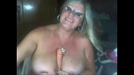 Blonde Mature Playing on Webcam See more at faporncom