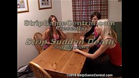 Cate, Tracey &amp_ Natalie play Strip SuddenDeath