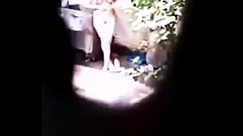 Omg Desi Sexy Girl Bathing Nude Outdoor Big Boobs Hairy Pussy Hidden Cam