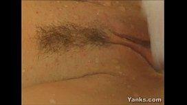 Sexy Babe Jane Masturbating Her Pussy
