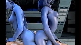 Mass Effect TaliZorah Full Compilation GIF