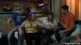 Fatties have fun in the pub