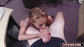 Gorgeous lovely babe getting fucked