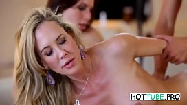 Aidra Fox and Brandi Love - Sex With Stepson!
