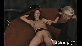 Loads of naughty amatur servitude porn with hot matures