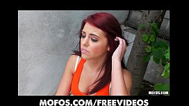 Beautiful redhead amateur fucks neighbor to get back at her BF xnxx image