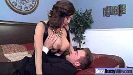 Big Tits Sexy Horny Wife Fucks Hard Style vid-25
