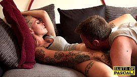 Inked british skanks fi cunt eaten out