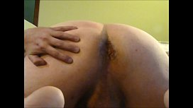Dirty Solo Ass Play with BIG Cumshot
