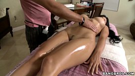 BANGBROS - Abella Anderson gets Oiled Up Download mp4 XXX porn videos