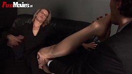 German Granny Foot Fetish Femdom