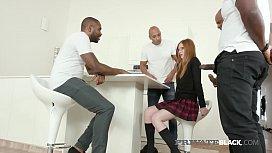 PrivateBlack - Schoolgirl Linda Sweet In Double Anal Orgy!