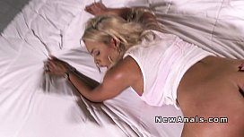 Huge boobs blonde anal bangs ex bf pov