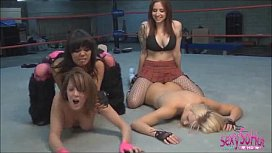 sluts wrestling
