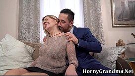 Pensioner takes facial