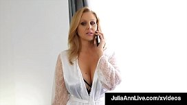 Big Boobed Milf Julia Ann Only Wants Dick In Her Mature Muff