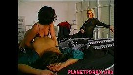 Three lesbians enjoying each other
