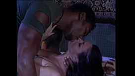 White chick caught in her sleep and banged by a big black man
