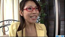 Mizuki Ogawa lovely babe deals cock in hardcore&