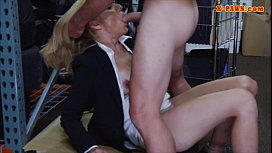 Sexy blonde milf screwed at the pa op and gets payed