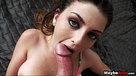Hot amateur Staci Silverstone tries anal 1 7