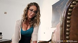 Brazzers Nau assistant Layla London loves cock