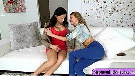 Porn small breast massage lesbian