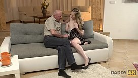 DADDY4K. Old daddy creampies s.'_s new girlfriend after amazing sex