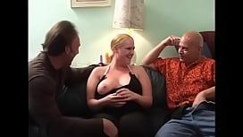 Amateur MMF Bisex Threesome Blond BBW