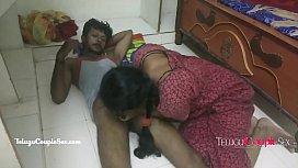 desi Indian telugu couple fucking on the floor