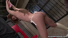 Setsuna is getting her hairy pussy licked good and fingered