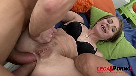 Big Booty slut Sasha Zima 100% double anal for perfect round ass affected3d