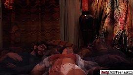 Karlie Grey having a fantastic threesome