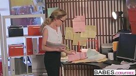 Babes - Office Obsession - (Tyler Nixon) - Filing Clerk Flirtation