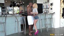 Petite Blonde Aaliyah Love Fucks A Black Cock