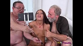 Wild Teen Riana G Takes Big Cocks And Jizz