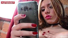 LETSDOEIT - BBW Latina Gets Rough Revenge Sex