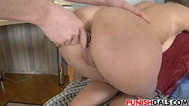 Teen Faina gets big dick in her anus